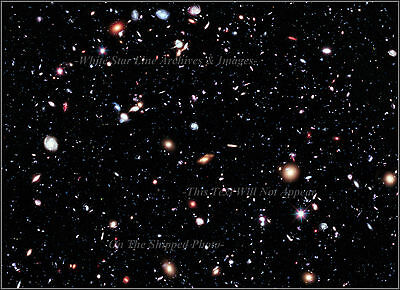 Photo  Hubble Extreme Deep Field  New View   450 Million Years After Big Bang
