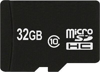 Speicherkarte MicroSDHC 32 GB class 10 für Samsung Galaxy J3 2016 J5 2016 Duos