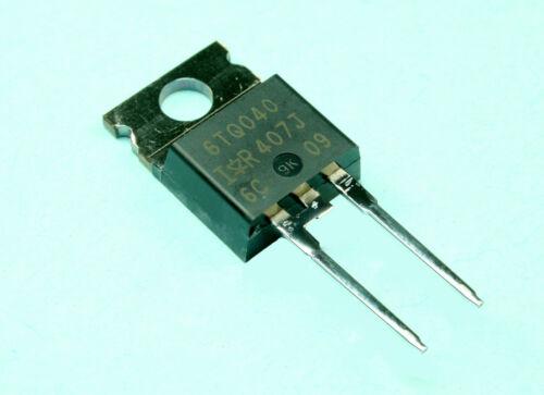 4pcs Vishay 6TQ040 Schottky Diode 6A 40V International Rectifier  VS6TQ040 Fast
