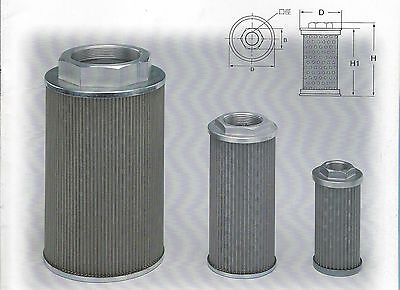 Hydraulic Suction Line Filters Ma-08a Mf-08a 1 Pt