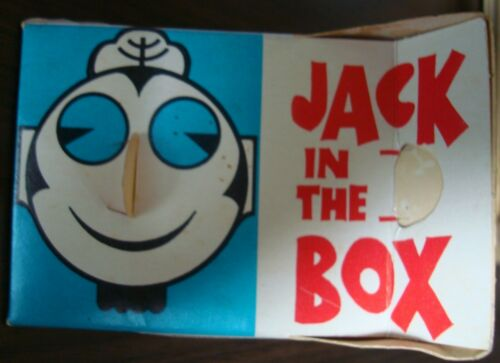 1970s VINTAGE Jack in the Box Antenna Topper- 3 Different Images on Topper