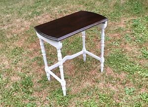 All wood side table!