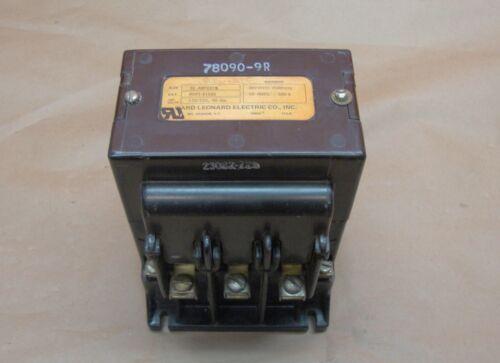 Ward Leonard RDP1-2100 Contactor 30 Amp 600 Volt DC Reliance 78090-9R Starter