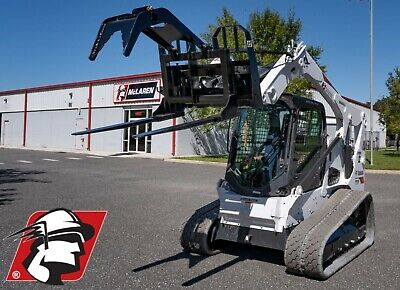 Pallet Fork Grapple Attachment For Bobcat Machines