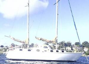 Roberts 35 Ketch Yacht  2 dble cbins & 2 single berths Sydney Sutherland Sutherland Area Preview