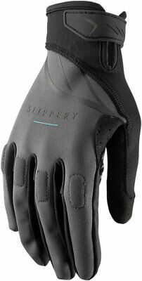 Slippery Wetsuits - Circuit Watercraft Gloves (Charcoal Gray/Black) L (Large)