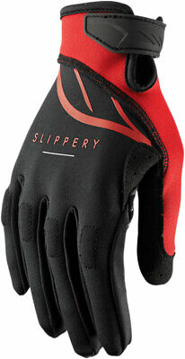 Slippery Wetsuits - Circuit Watercraft Gloves (Black/Red) L (Large)