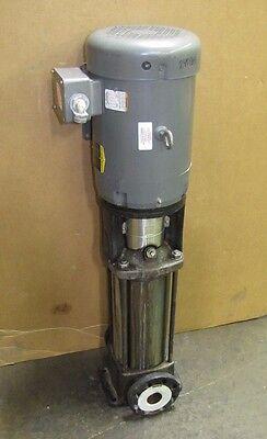 Grundfos Cr10-12 A-gj-a-e-hqqe A96126740p113200845 10 Hp 10hp 208-230460 Pump