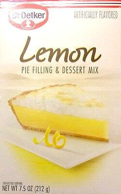 Dr. Oetker Lemon Pie Filling & Dessert Mix (Pack of 2) 7.5 oz Boxes Dr Oetker Dessert Mix