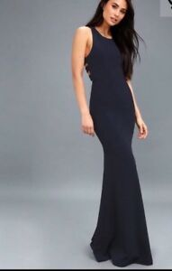 NEW! Ladies navy blue dress