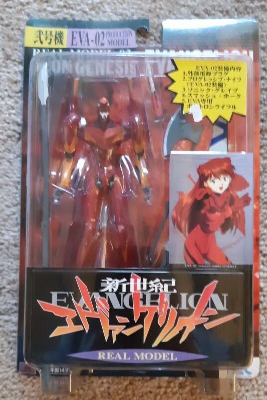 Neon Genesis Evangelion EVA-02 Real Model 03 Asuka Action Figure - NEW