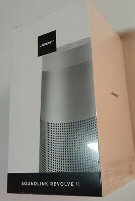 Altavoz Inalámbrico - Bose Soundlink Revolve ll Sonido 360º, Bluetooth, Plata