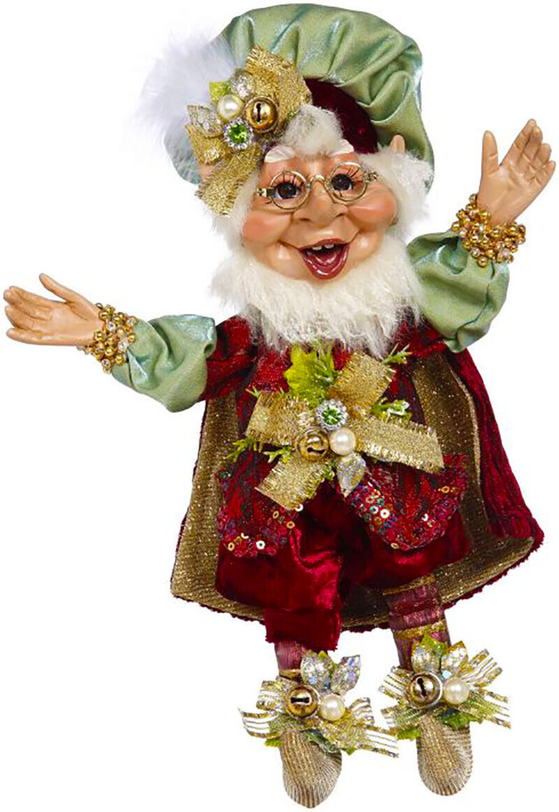 """[Mark Roberts Elves - Gift Giving Elf 51-05556 Small 10"""" Figurine </Title]"""