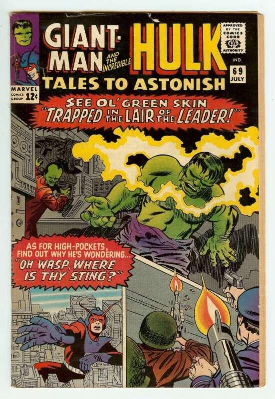 TALES TO ASTONISH #69 4.0