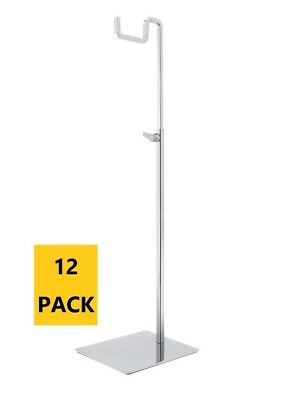 Polmart H013 Handbag Purse Adjustable Height Display Stand Pack Of 12