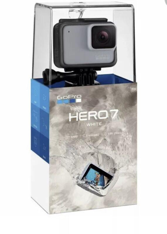 GoPro HERO7 Hero 7 White Waterproof 10MP 1080p60 W 33ft 10mm Action camera New