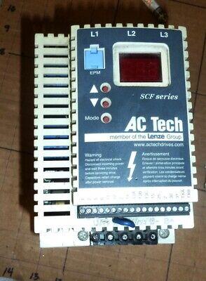 Ac Tech Sf250 Variable Speed Ac Motor Drive 3ph 5hp 3.7kw
