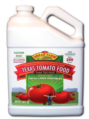 Urban Farm Fertilizers, Texas Tomato Food, 1 gal , Competition Tomato -