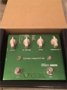 Time machine delay pedal