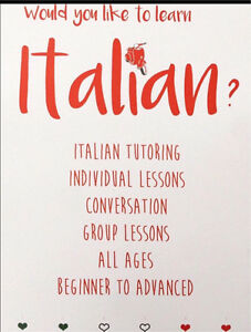 ITALIAN LESSONS / TUTORING / CONVERSATION Cremorne North Sydney Area Preview