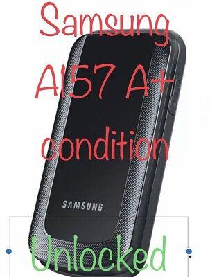 UNLOCKED Samsung SGH-A157 (AT&T) 3G GSM Flip Phone Worldwide T-Mobile Cricket ✔️ Samsung 3g Phones