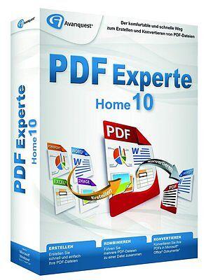 PDF Experte 10 Home  CD/DVD Version deutsch PDF Manager inkl. DriverGenius 12 CD online kaufen