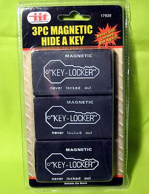 3 Magnetic Hide A Key Holders Spare Key Hidden Storage Safe Secret Hider Outdoor