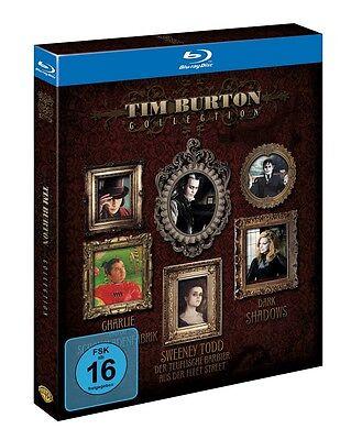 Tim Burton Kinder (Tim Burton Blu-ray Collection - NEU u.a. Charlie und die Schokoladenfabrik)