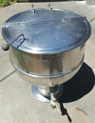 Groen Jacketed 60 Gallon Stationary Steam Kettle Model Pt-60sp