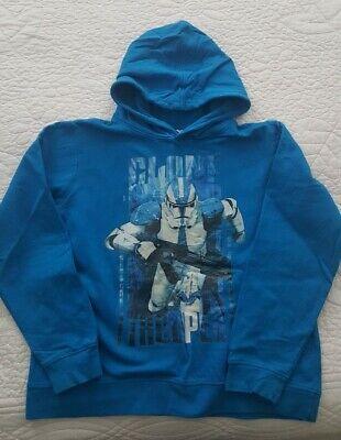 Kapuzen Pullover 146 152 Star Wars Blau