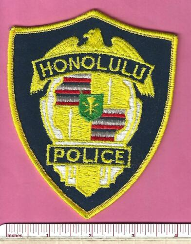 Honolulu HI City & County State of Hawaii Law Enforcement Police Shoulder Patch
