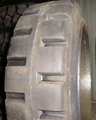 16x7x10-12 Tires Solid Forklift Press-on Lug Tire 16x7x10.5 Usa Made 16710