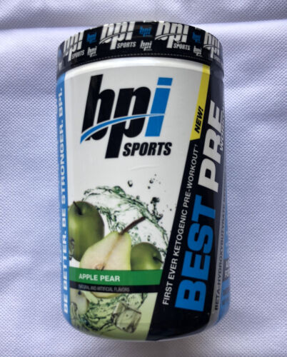 BPI Sports Best Pre-Workout Apple Pear  Muscle Builder Stren