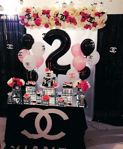 STELLA DECOR! CHANEL theme party decorations available for hire! Modbury Tea Tree Gully Area Preview
