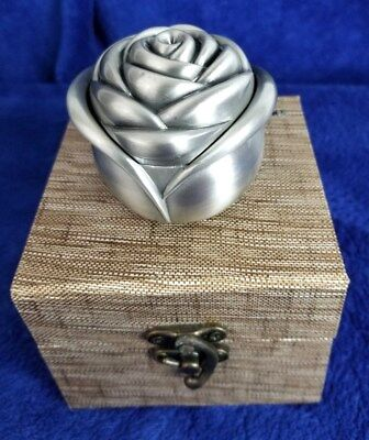 Valentines's Day hey June Rose Shape Box Handmade Preserved Flower Rose Upscale Fresh Flower Holders