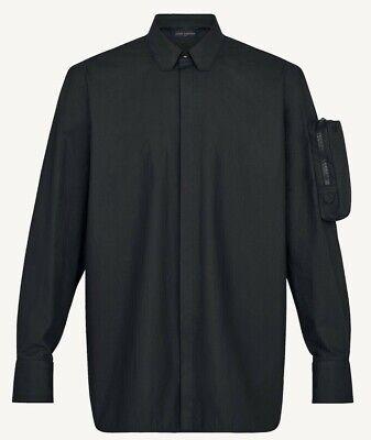 Louis Vuitton Pilot Pocket Shirt. Size M. Black