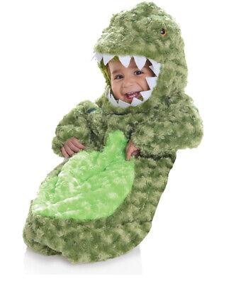 Underwraps T-Rex Dinosaurier Plüsch Fahnentuch Kleinkinder Baby Halloween - Plüsch T Rex Kostüm Kind