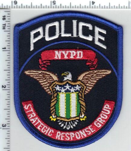 Strategic Response Group Police Unit Shoulder Patch