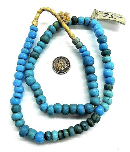 OLD Southwest Original Padre Blue   African Trade Beads   Bin R