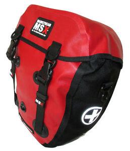1 Fahrradtasche Frontroller Mainstream MSX MX 12,5 Liter Rot 100 % Wasserdicht