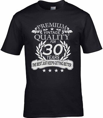 50th Birthday Celebration Ideas (Men's 30th Birthday T-Shirt 50th 40th 80th Celebration Gift Idea Any Age)