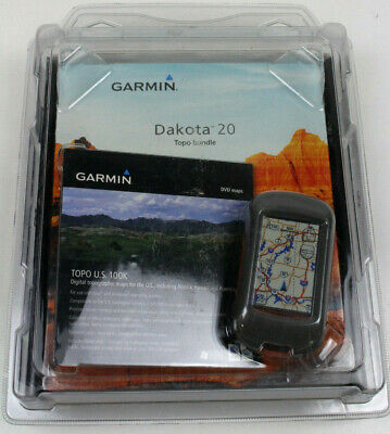 Garmin Dakota 20 GPS Topo Bundle