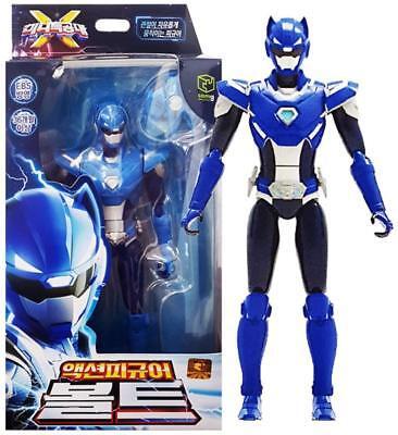 Mini Force 2018 New Version Miniforce X Bolt Volt Action Figure Blue + Free gift