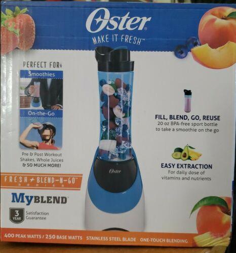 Oster BLSTPB-WBE-000 My Blend 250 Watt Blender with Travel