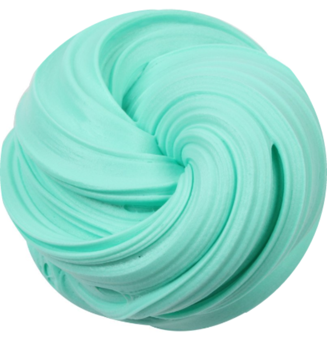 Green Butter Clay Slime UK Seller 4oz Fluffy Putty Free Activator Butter Slime