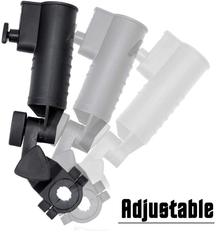 Golf Cart Umbrella Holder Universal for Push Cart Adjustable Size Angle Stroller