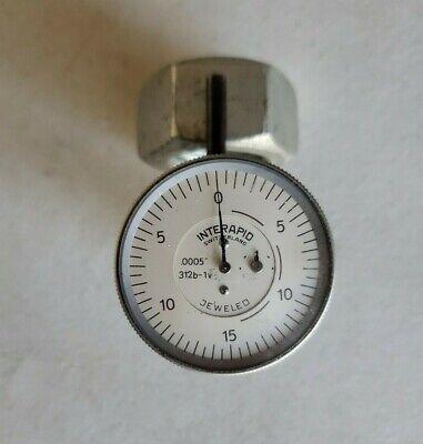Interapid Precision Test Indicator .0005 Made In Switzerland.