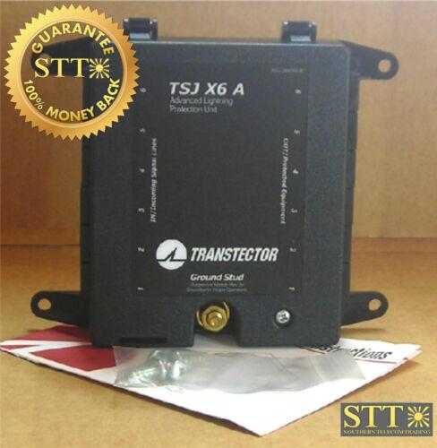 1101-772-a Transtector Tsj X6 A 6-port T1/e1 Surge Protector New