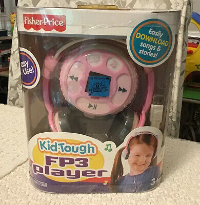 Fisher Price Kid Tough FP3 Song & Story Player PINK - New in Original Packaging