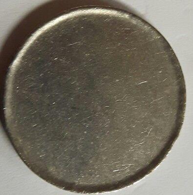 BRD: 1 DM RONDE MIT RANDINSCHRIFT, (Alb03M15), 5,51 GRAMM, SEHR SCHÖN, SELTEN.
